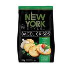 New York Style Bagel Crisps - Roasted Garlic - 170g