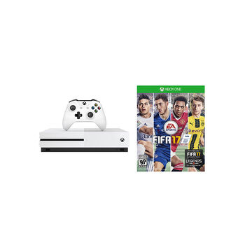 Xbox One S 500GB Console with FIFA 17 Bundle