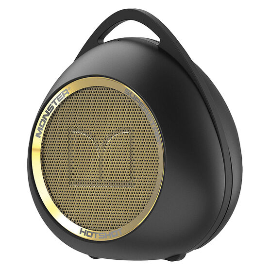 Monster SuperStar HotShot Portable Bluetooth Speaker - Black/Gold - MSPSPSTRHOTBTBKGLDWW