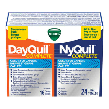Vicks DayQuil / NyQuil Complete - 24's