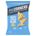 PopCorners Popped Corn Chips - White Cheddar - 142g