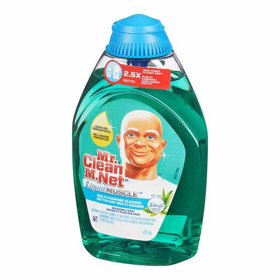 Mr. Clean Liquid Gel Muscle Multi-Purpose Cleaner - Meadows & Rain - 473ml