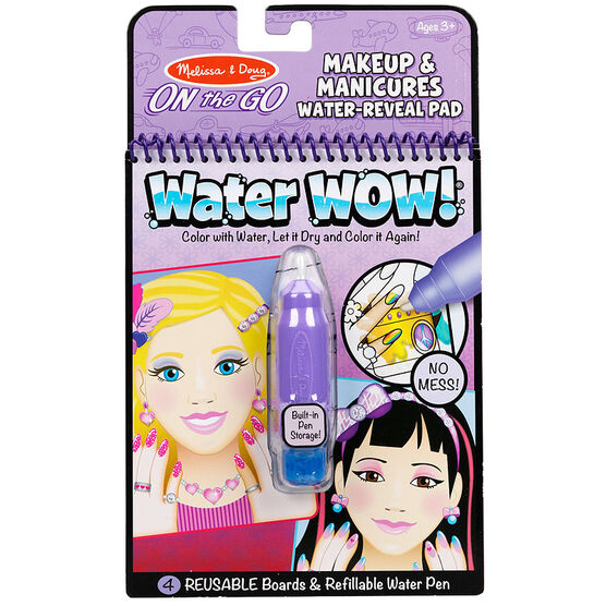 Melissa & Doug Makeup and Manicures Water-Reveal Pad