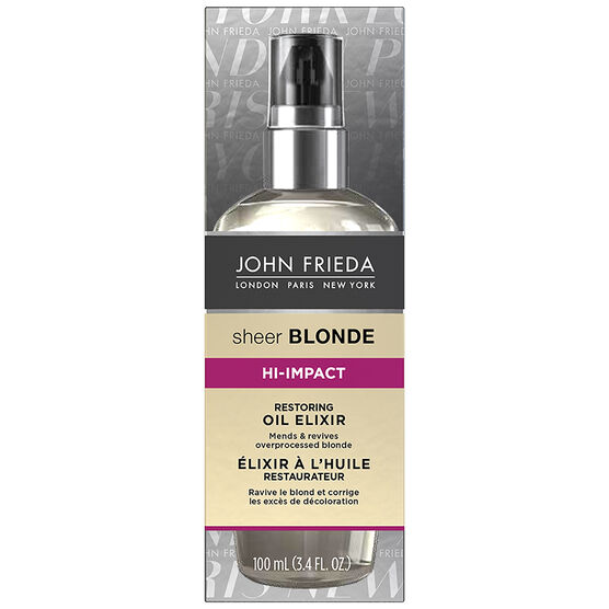 John Frieda Sheer Blonde Hi-Impact Oil Elixir - Restoring - 100ml