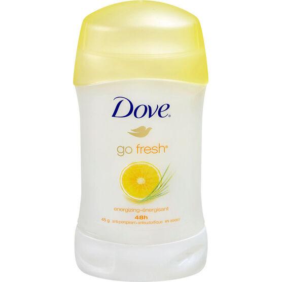 Dove Go Fresh Anti-Perspirant Stick - Energizing - 45g