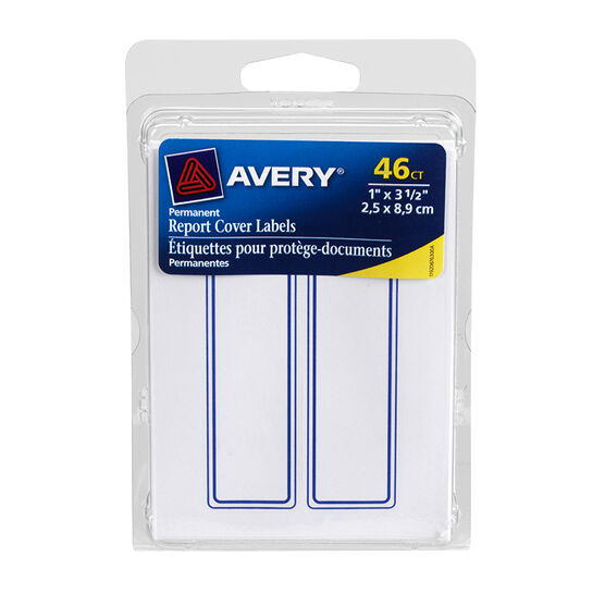 Avery Report Cover Label - 46's