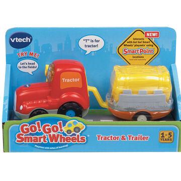 Vtech Go Go Smart Wheels - Tractor & Trailer