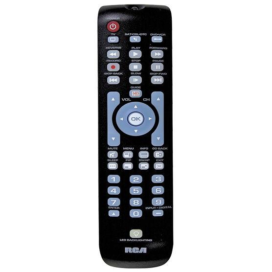 RCA 3 Device Remote Control- Black - CRCRN03BR