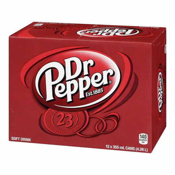 Dr. Pepper - 12 Pack
