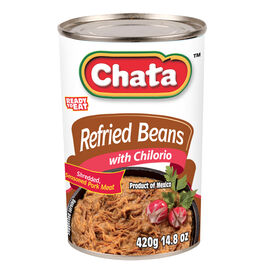 Chata Refried Beans with Port - Chilorio - 420g