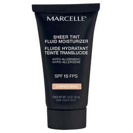 Marcelle Sheer Tint Fluid Moisturizer - SPF 15
