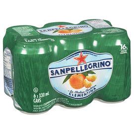 San Pellegrino Mineral Water - Clementina - 6 x 330ml