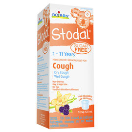 Boiron Stodal Kids Cough Syrup - Sugar Free - 125ml