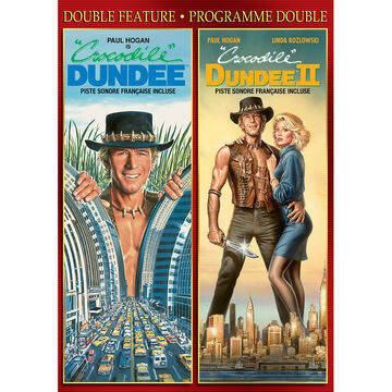 Double Feature: Crocodile Dundee/Crocodile Dundee II - DVD