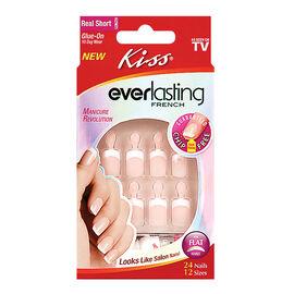 Kiss Everlasting French Nails - Endless - Real Short