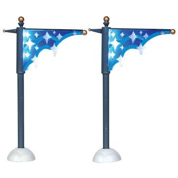 Lemax Star Street Banner - 2 set