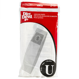 Dirt Devil Type U Standard Bag - 3 pack