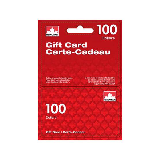 Petro-Canada Gift Card - $100