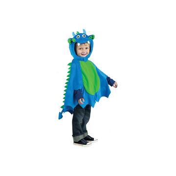 Halloween Dragon Cape - Toddler - Blue/Green