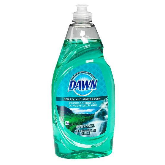 Dawn Dishwashing Liquid - New Zealand Springs - 709ml