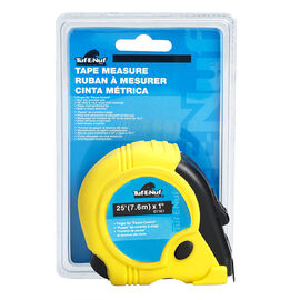 Tuf-E-Nuf Tape Measure with Rubber Jacket - 7.6m x 1inch