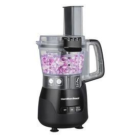 Hamilton Beach Stack & Snap Compact Food Processor - Black - 70510