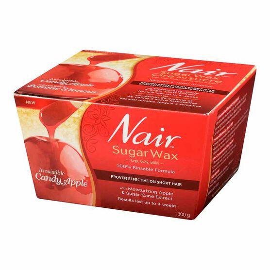 Nair Irresistible Candy Apple Sugar Wax - 300g