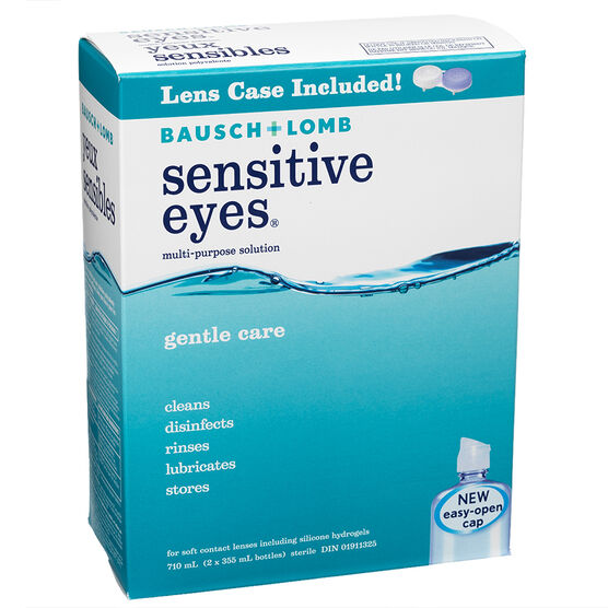 Bausch & Lomb Multi-Purpose Solution - Sensitive Eyes -  2 x 355ml