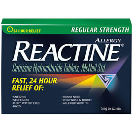 Reactine Tablets - Non-Drowsy - 24 hour - 5mg/36's