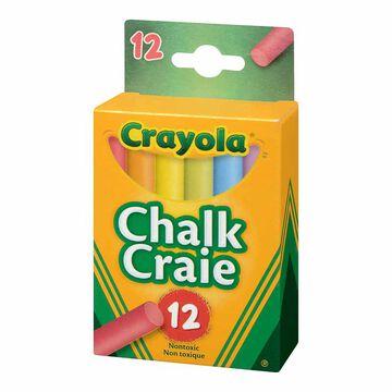 Crayola Colourex Chalk - 12 colours