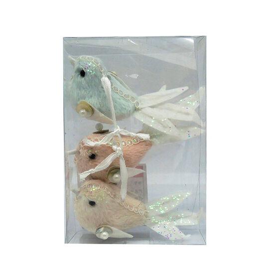Hanging Bird Ornament - Set of 3 - CA4426-34BA3