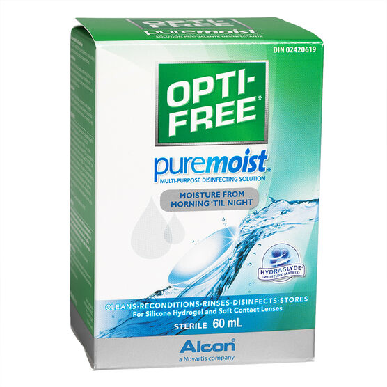 Alcon Opti-Free PureMoist Multi-Purpose Disinfecting Solution - 60ml