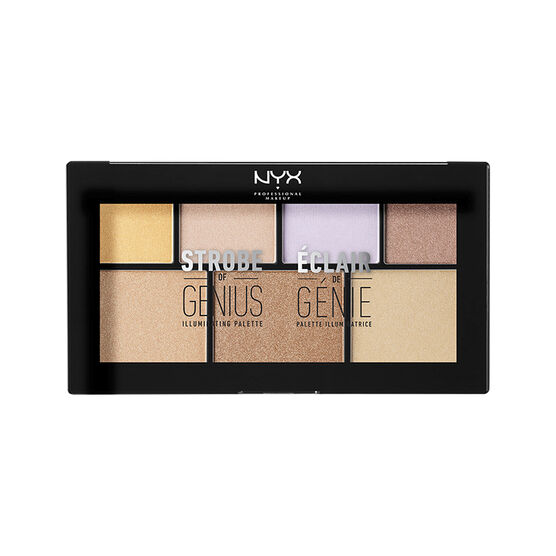 NYX Professional Makeup Strobe Of Genius Illuminating Pallet