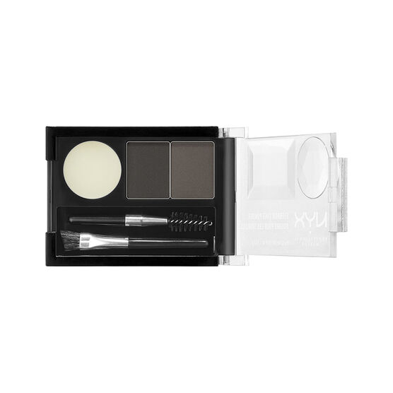 NYX Eyebrow Cake Powder - Black - Grey