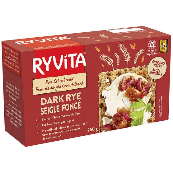 Ryvita Crispbread - Dark Rye - 250g