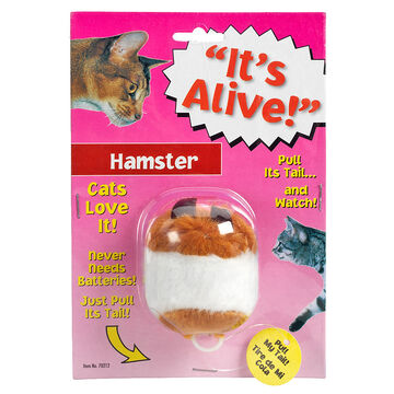 Hamster Vibrating Cat Toy - Assorted