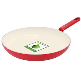 Green Life Foodies Fry Pan - Red - 28cm