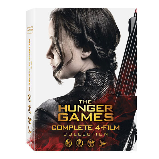 The Hunger Games: Complete 4-Film Collection - DVD