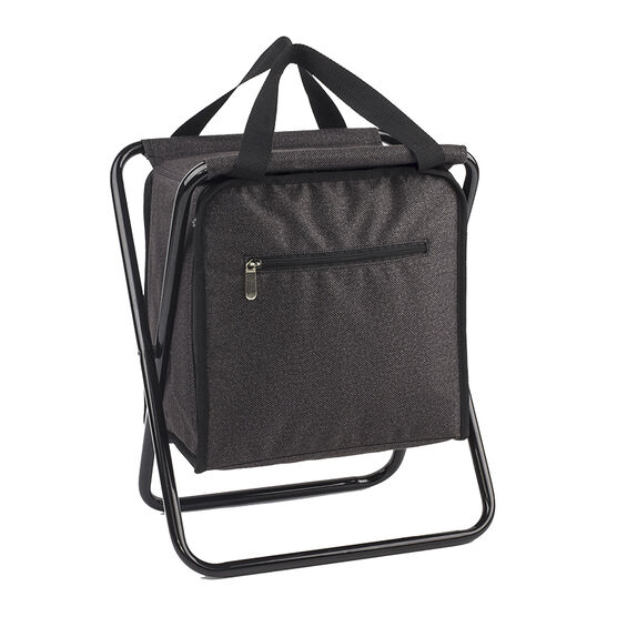 LD Cooler Bag with Stool - Grey