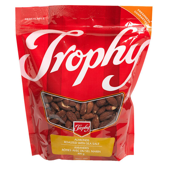 Trophy Almonds - Roasted & Salted - 800g