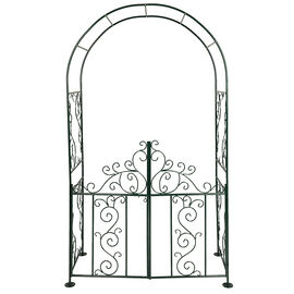 Garden Arch with Gate - 8ft - H3-695/4