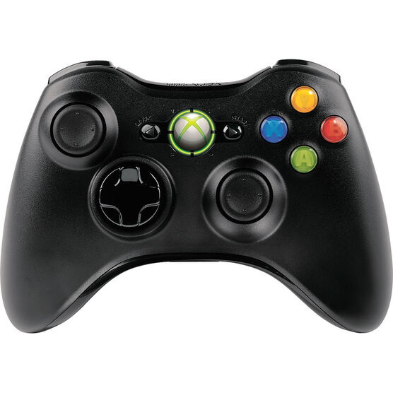 Xbox 360 Wireless Controller - Black - JR9-00011