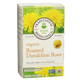 Traditional Medicinals Herbal Tea - Organic Roasted Dandelion Root - 20's