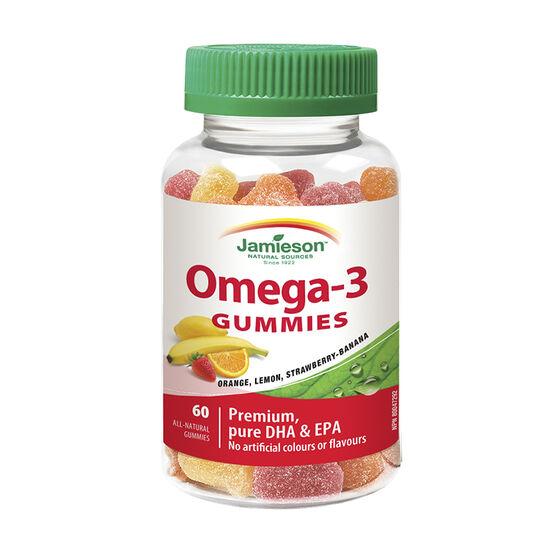 Jamieson Omega-3 Gummies - 60's