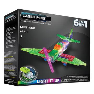 Laser Pegs 6 in 1 Mustang