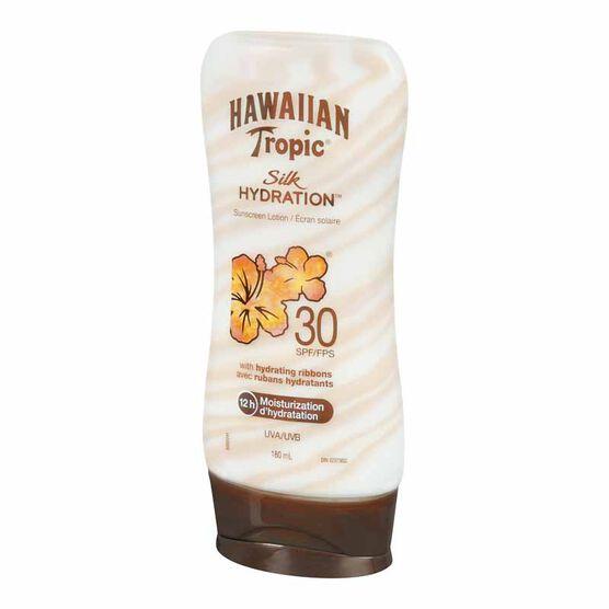Hawaiian Tropic Silk Hydration Sunscreen Lotion - SPF 30 - 180ml