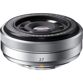 Fuji XF 27mm F2.8 Lens - Silver