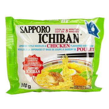 Sapporo Ichiban Noodles - Chicken - 100g
