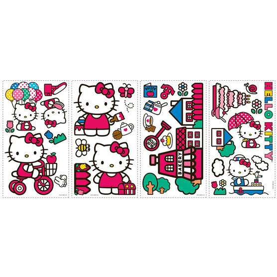 RoomMates World of Hello Kitty Wall Decals