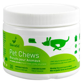 SierraSil Pet Chew Tablets - 30's